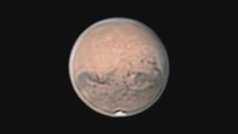 火星の地形 (2020-10-01 13:08.0 UT)
