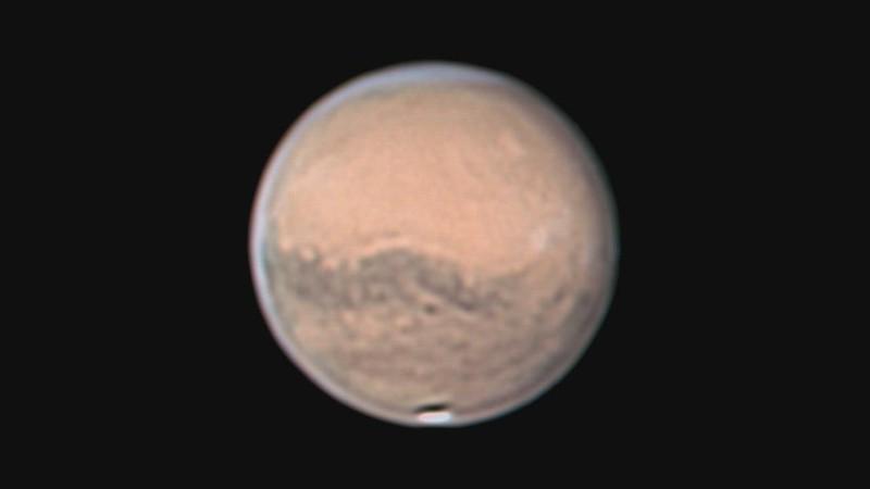 火星の地形 (2020-10-01 15:48.2 UT)