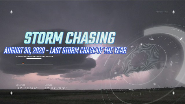 Storm Chasing 2020: Last Storm Chase of the Year