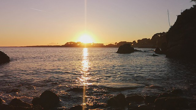 Cap d'Antibes Sunset VID_20200214_174504