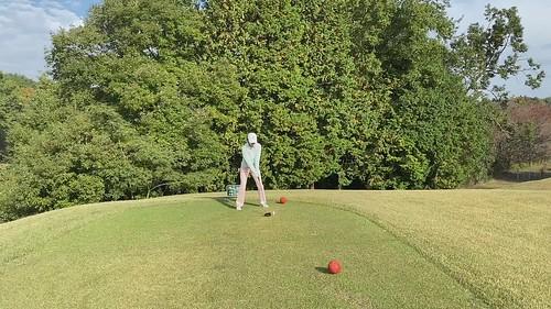笠間でゴルフ