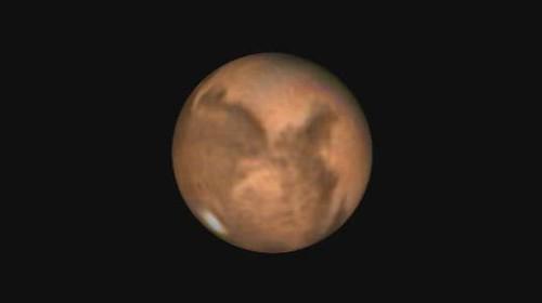 Mars Rotation Video