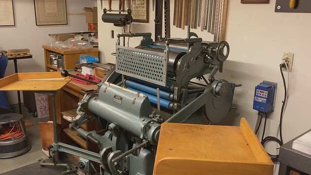 Hohner Din A4 Printing Press / Short Video.