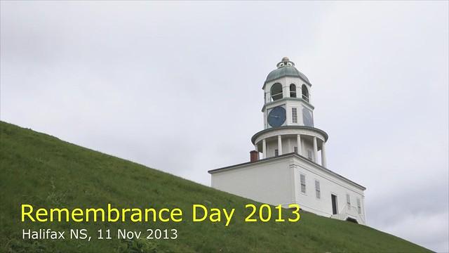 Halifax Remembrance 2013 [3:30 mins]