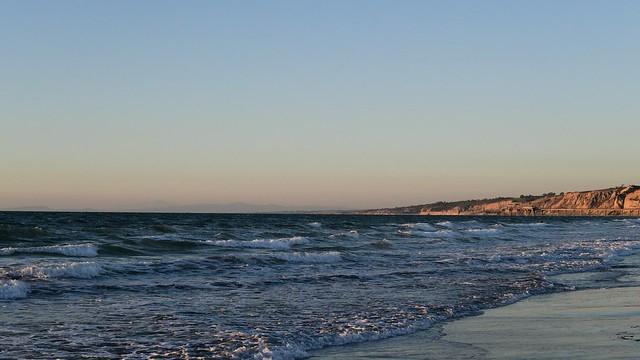 La Jolla Shores at sunset