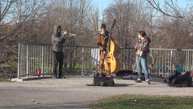 Jazz Trio in the Park