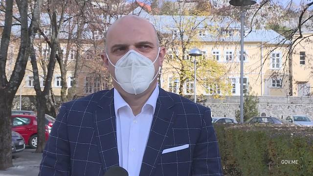 dr Nermin Abdić - izjava nakon posjete Cetinju