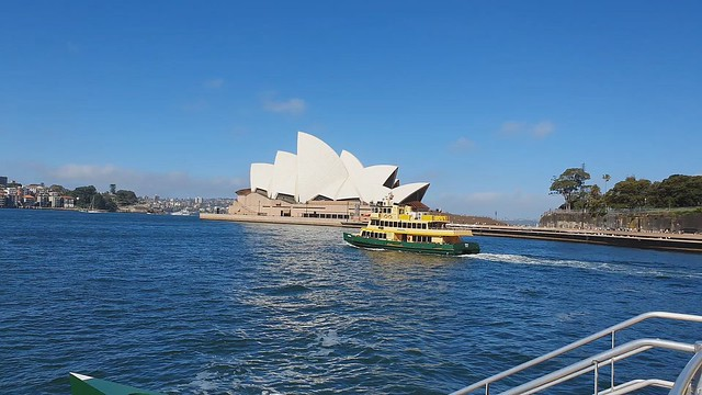 A Ferry ride to Pyrmont Bay