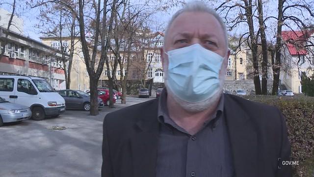 Nenad Vušurović, direktor Doma zdravlja Cetinje - izjava