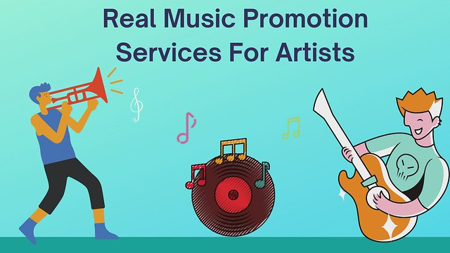 Real Music Promotion Services For Artists