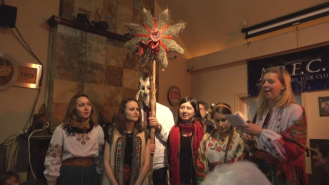 Ukrainian Christmas Choir at the Folk Club