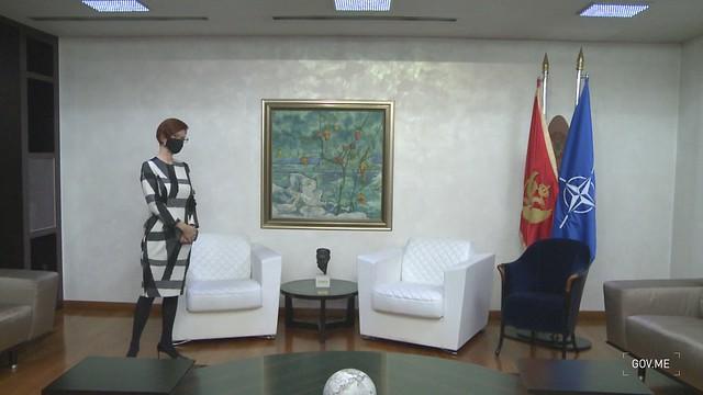 Zdravko Krivokapić - Danijela Gašparikova (13.01.2021.)