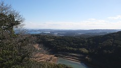 View from the top of Ondake (you can see Tsushima)