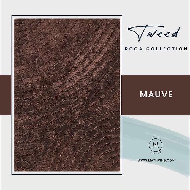 Hand-Tufted Ring Shag Roca Tweed Area Rug Collection Carpet Sale