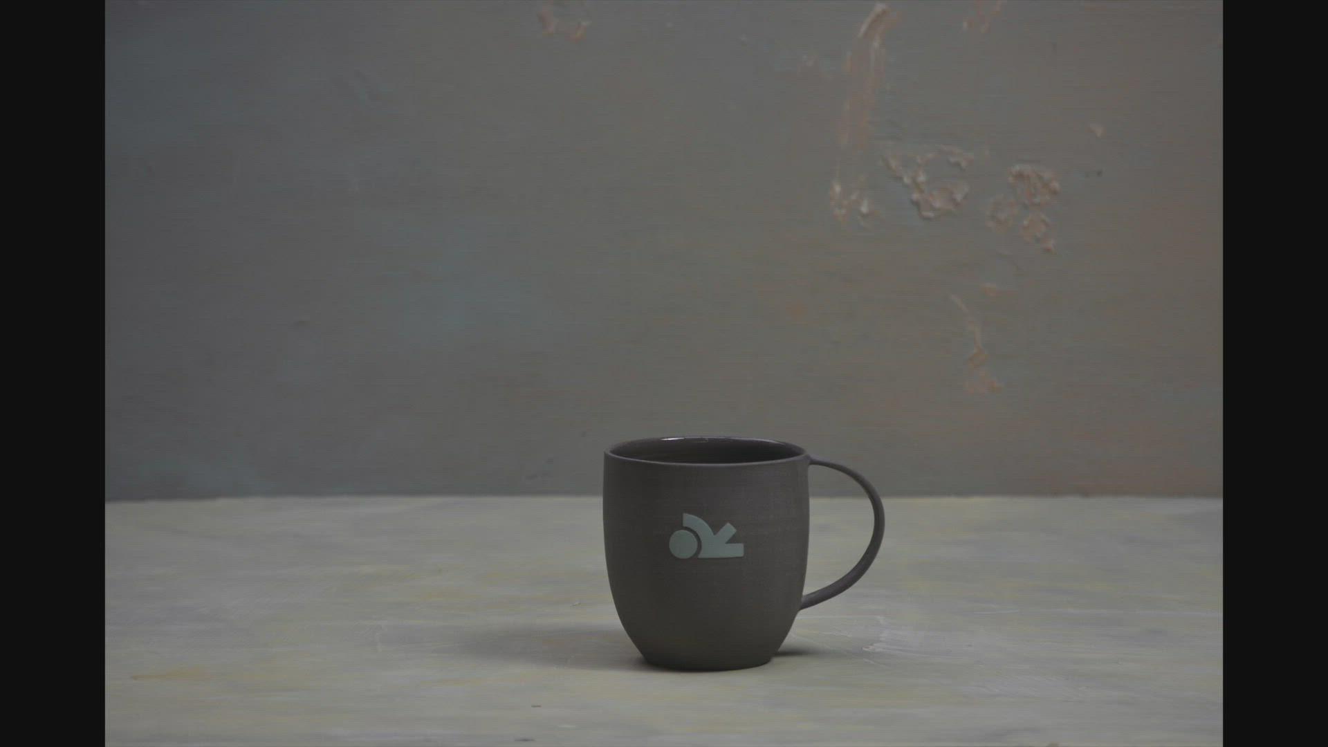 "A order of cups & mugs in ""Rock | Slate"""