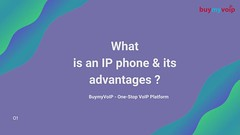 What is an IP phone & its advantages