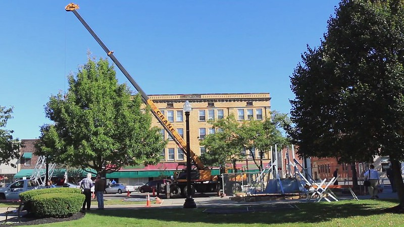 016 movie of placing-the-first-30-feet-of-the-ravenna-flagpole back into place on sep-24-2014