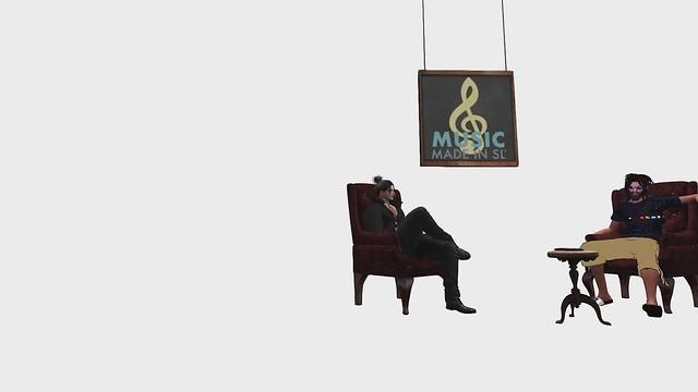 Music Made in Second Life - Gabriel da Silva