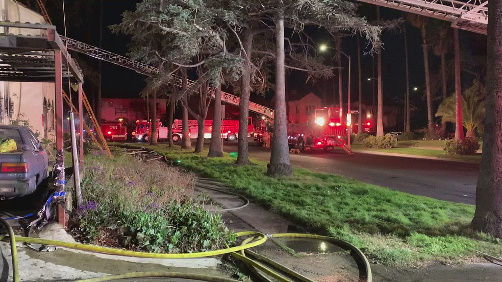 Wind Swept Flames From Carport Fire Damage Mid-City Duplex