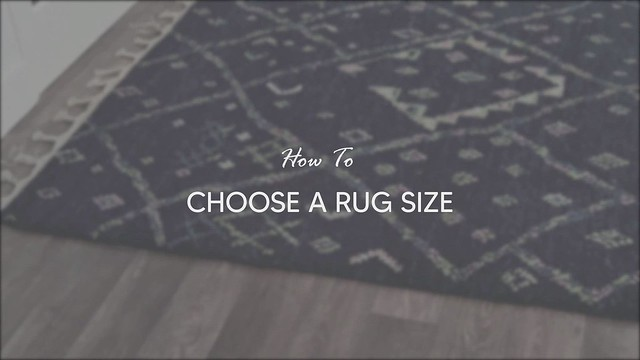 How to  Choose the Rug Size