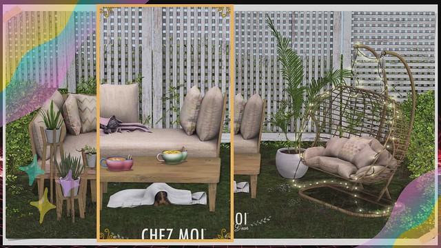Terra Patio Set Gacha CHEZ MOI – NEW DECOR - Media SL - Second Life