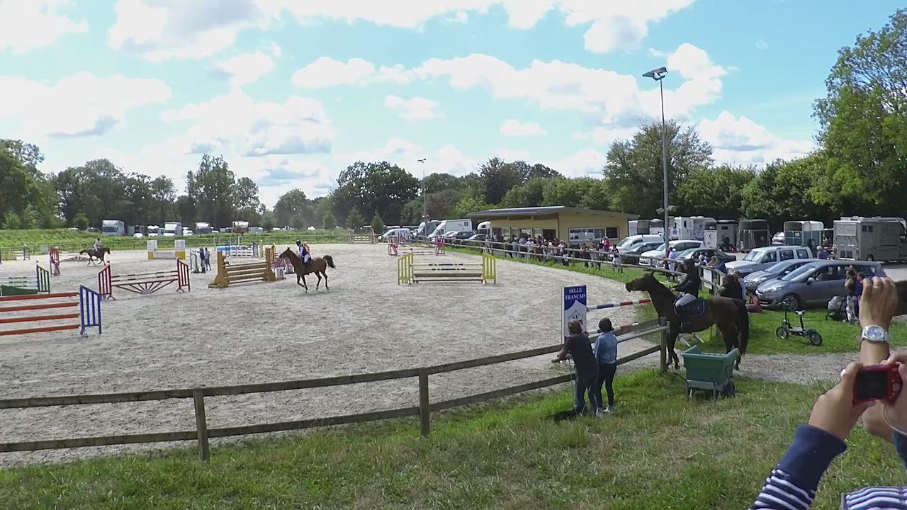 Alix et Calypso de Fontenay -La Barre de Semilly - 1m10 Grand Prix