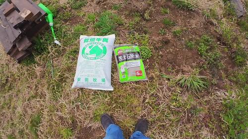 午後の農作業