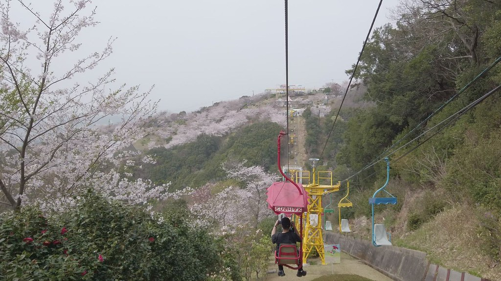 須磨浦山上遊園の乗り物 DJI OSMO POCKET