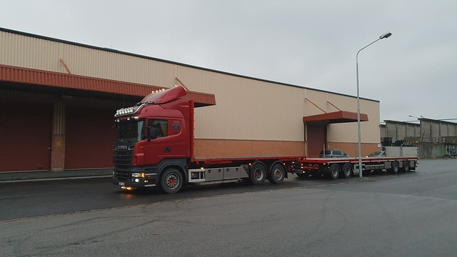 Scania R560 - Tores Åkeri i Lyckeby AB (Thank you to the driver Palle!)