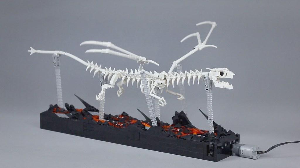 Kinetic Dragon Skeleton 💀