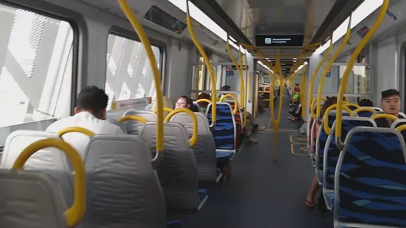 Walking through an Evolution/HCMT train