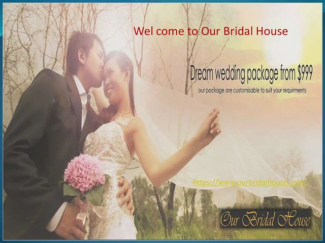 Affordable wedding package in Singapore