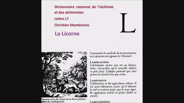 Dictionnaire raisonné-L7