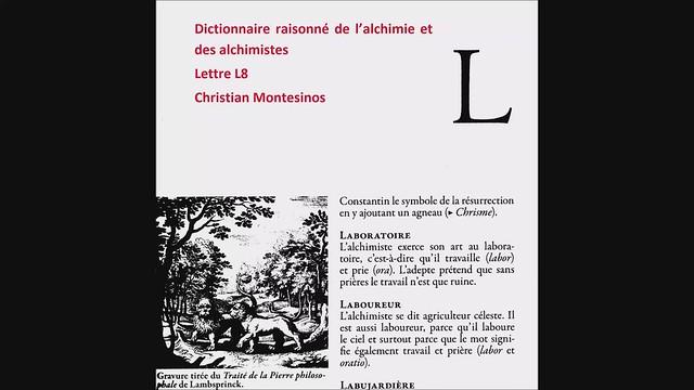 Dictionnaire raisonné-L8