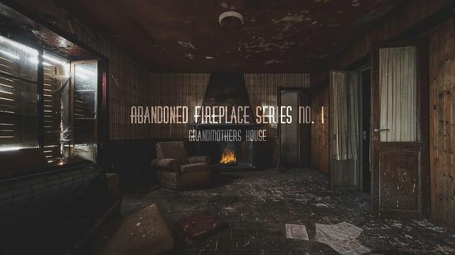 Abandoned Fireplace Series No. I - Grandmothers House -