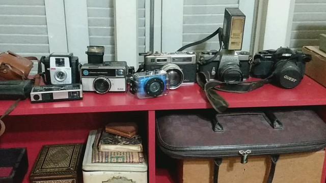 Minhas câmeras antigas * My old cameras * Mes vieux appareils photo * Mis viejas cámaras * 私の古いカメラ * 我的旧相机