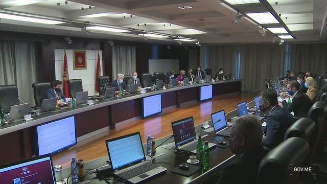 21. sjednica Vlade Crne Gore (22.04.2021.)