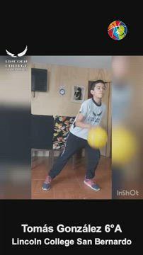 minibasquet - Tomas Gonzalez - Lincoln San Bernardo