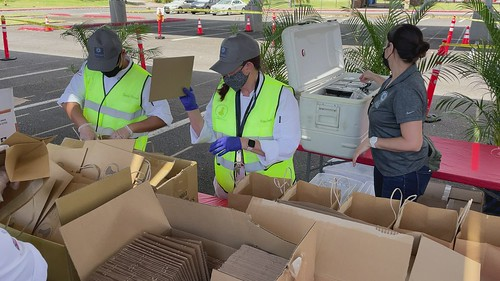 Preparing bags