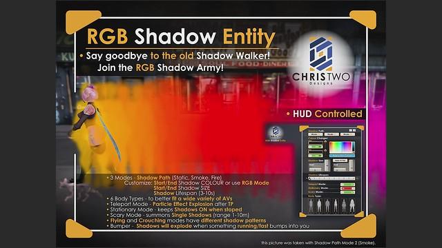 RGB Shadow Entity - Video Tutorial - [Chris Two Designs]