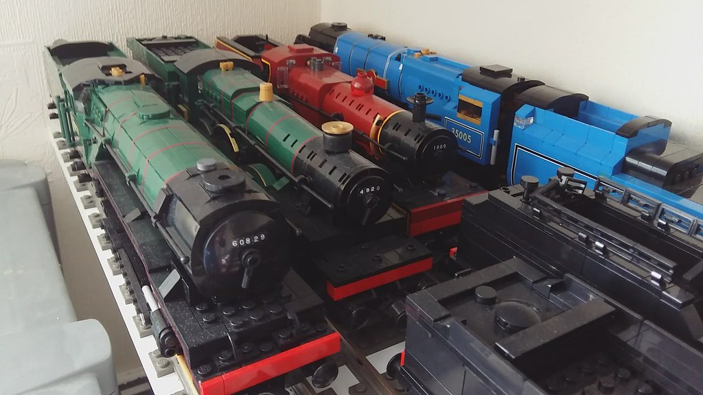My loco collection mid 2021