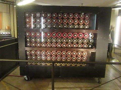 Movie of Replica Bombe, Bletchley Park