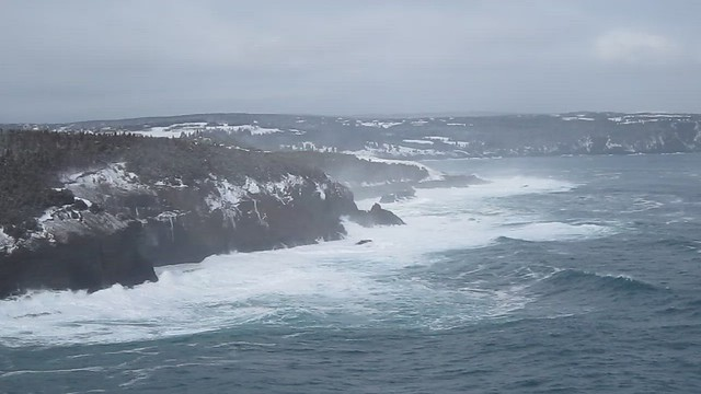 Wild Waves at Middle Cove
