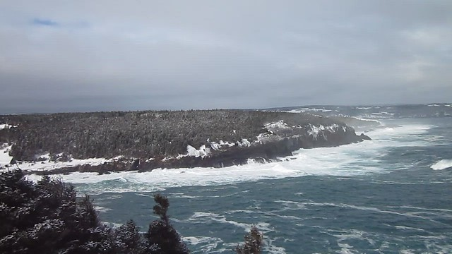Wild Water at Middle Cove