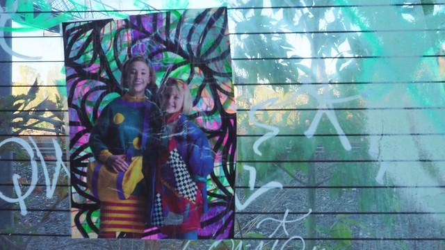 Art at the Wallace Footbridge