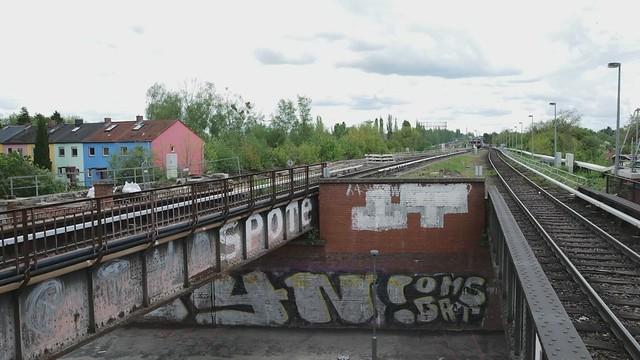 Berlin Lankwitz ÖL Zug 15.5.2021 Lok 132 068-8
