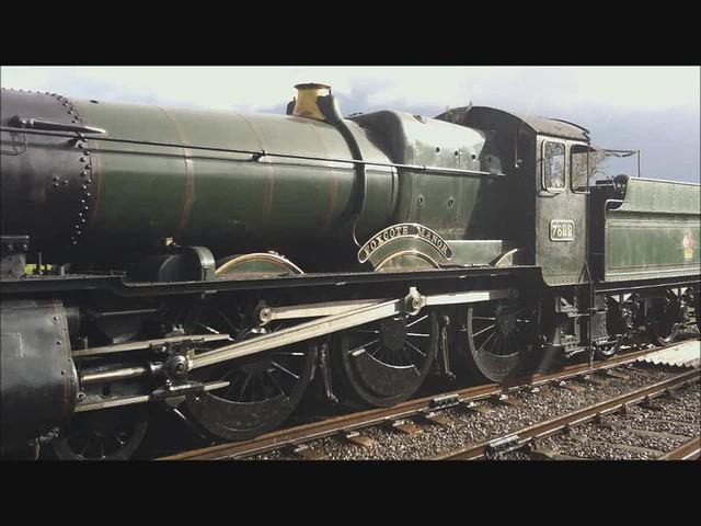 7822 Foxcote Manor, GWR Manor-Class-4-6-0, Avon Valley Railway, Avon Riverside Satation