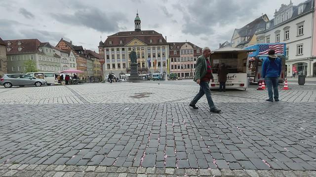 Coburger Marktplatz