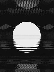 Digital Moonrise in Glitch Lab App - 34 Seconds