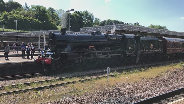 45690 Leander - The Scarborough Flyer, June 2021